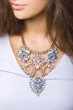 Statement Necklace Exotic Flower Statement Necklace Pendant Fashion New Jewelry