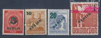 Berlin (West) 64-67 geprüft postfrisch 1949 Grünaufdruck (8297160