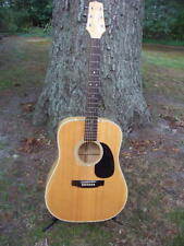 Takamine 1987 F-350M Acoustic Guitar Quilt Maple Japan Dreadnought