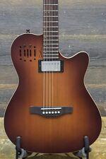 "Godin A6 Ultra Cognac Burst HG ""SF"" Electro-Acoustic Guitar w/ Bag - #17242113"
