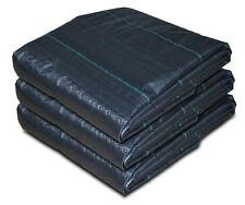 Heavy Duty 100GSM Weed Control Fabric Membrane Ground Cover Sheet 30M x 1M