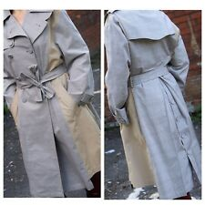 Zara Contrasting Fabric Trench Coat Size M Ref.7893/660