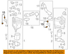 PORSCHE OEM 14-16 Panamera 4.8L-V8 Air Cleaner Intake-Support Bolt 90037803501