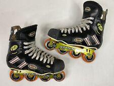 Mission Flow Mod4 Inline Hockey Roller Skates Size 12 D (Men US 12 Shoe Size