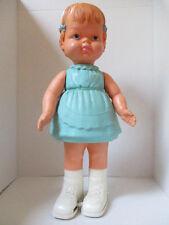"Vintage 1965 Louis Marx & Co. 21"" Miss Toddler Walking Doll"
