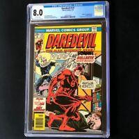Daredevil #131 (Marvel 1976) 💥 CGC 8.0 💥 1st App of the new Bullseye! Comic
