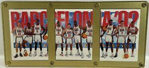 1992-93 SKYBOX BARCELONA OLYMPICS DREAM TEAM USA MINT 3 CARD SET IN HOLDER