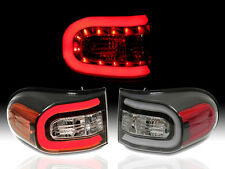 LED Plasma NEON Bar Black Tail Light Lamp Pair Fit for 07-14 Toyota FJ Cruiser