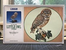 Gunze / AIRFIX Wildlife Series Little Owl Plastic Model Kit - 1/1 Scale