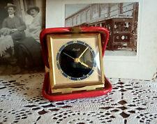 Vintage alarm clock, Kienzle, Tourist clock, travel clock, wind up, mechanical