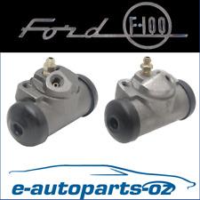 Premium Brake Rear Wheel Cylinder Set: Ford F100 F150 F250 & Bronco 1975 - 1984