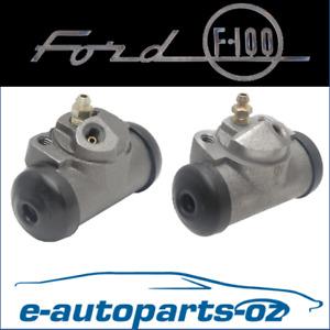 Premium Brake Rear Wheel Cylinder Set: Ford F100 F150 F250 & Bronco 1975 - 1993