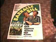 BARNACLE BILL MOVIE POSTER '41 WALLACE BEERY