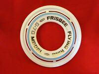 Vintage 1978 WHITE AND BLUE  WHAM-O WHAMO Frisbee Flying Ring G-70 Model