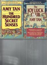 AMY TAN - THE HUNDRED SECRET SENSES  - A LOT OF 2 BOOKS