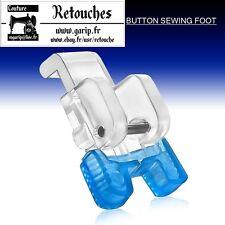 Pied boutonnière à glissière en plastique machine à coudre pied de biche