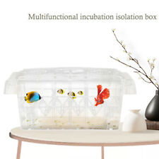 20.5*9*10.5cm Aquarium Baby Fish Tank Guppy Double Breeding Rearing Hatchery Box