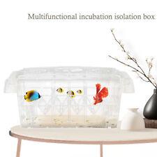 Aquarium Baby Fish Tank Guppy Double Breeding Rearing Hatchery Box 20.5*9*10.5cm