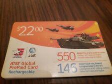 AT&T Global PrePaid Phone Card 510 Minutes