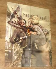 Resident Evil 4 Leon & Chainsaw Ganado double sided Poster 55x71cm Capcom