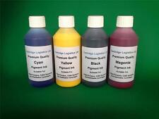 NON OEM HP Compatible Cartridge & CISS Refill Pigment Ink 4 x 100ml