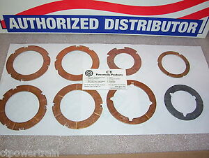 C6 New Thrust Washer Kit Less Selectives 1966-On For Ford Lincoln Mercury Merc