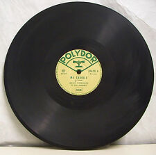 78 tours JOHNY UVERGOLTS Disque Aiguille MA CARIOLE -PAS DE LOUP -POLYDOR 524737