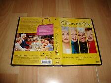 LAS CHICAS DE ORO 1º PRIMERA TEMPORADA EN DVD CON 4 DISCOS EN BUEN ESTADO