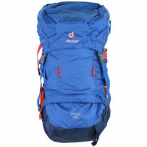 Deuter Fox 40 Litre Kinder-Wanderrucksack Trekking à Dos Sac Bleu