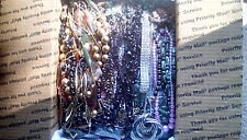 Huge costume jewelry lot 13.3lbs. Necklaces, bracelets and earrings