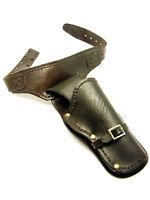 Vintage Unmarked Heavy Plastic Cap Gun Pistol Holster Incomplete Belt