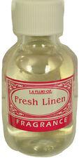 Fresh Linen Oil Based Fragrance 1.6oz 32-0198-07