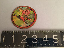 Antique Nursery Rhyme Children's TOY LITHO JACK & JILL PLATE RARE