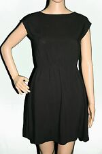 Urban Outfitters Urban Renewal Black Cross Back Short Dress Size S NWT