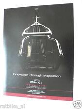 D481 BROCHURE PROSPEKT THE OCC ORIGINAL CHOPPER BIKE ENGLISH 6 PAGES MOTORCYCLE