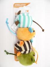 SmartyKat Catnip Skiter Mice Cat Toy, Stimulation Toy, Assorted Multicolor - 4pc