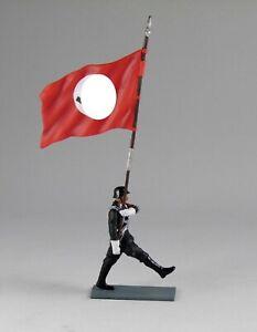 1/30 German Berlin 1938 Allgemeine SS marching Flagbearer SA001