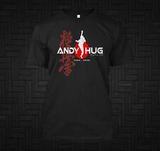 New Andy Hug Kyokushin Karate K-1 Fighter Champion  - Custom Men's T-Shirt Tee
