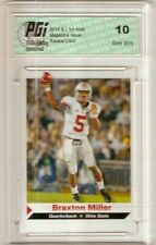 Braxton Miller 2013 SI for Kids First Rookie Card Ever Ohio State PGI 10 s.i.