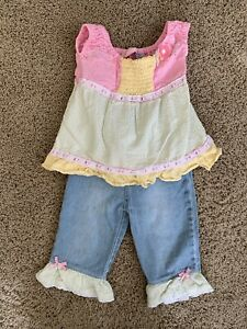 New Baby Girl Kids Headquarters Size 24 M 2T