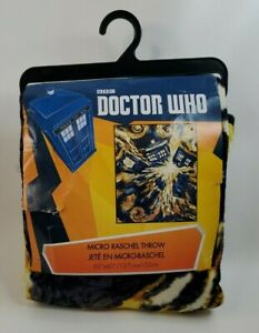 "Doctor Who Throw Blanket - Exploding TARDIS Pandorica Fleece 50"" x 60"""