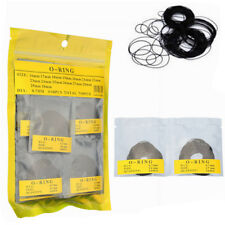 750 Pcs 0.7MM O-Ring Watch Back Gasket Rubber Seal Washers Size 16 mm - 30 J1K4