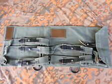 WH MP38 MP40 SMG Carrier Case Magazintasche Ammo Pouch Wehrmacht FJ DAK LW WXX