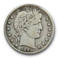 1892 O 50C Micro O Barber Half Dollar PCGS VG 10 Very Good to Fine CAC Approved