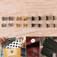 10x Magnetic Snap Handbag Purse Clasp Button Bag Accessories Parts Bag Button FF