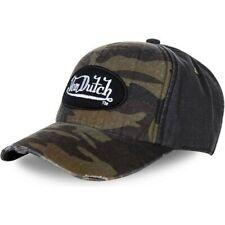 VON DUTCH BASEBALL CAP JACK12 CAMO/BLACK **BRAND NEW & IN STOCK**