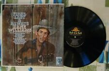 Hank Williams Sr. LP First, Last & Always VG+/VG++
