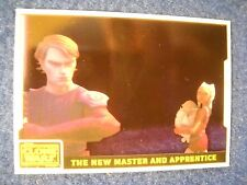 "2008 STAR WARS CLONE WARS ANIMATION CEL INSERT #3 ""The New Master & Apprentice"""