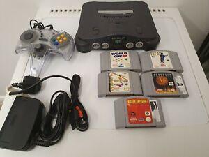Nintendo 64 Console, Controller 5,Games  Bundle Tested