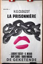 Henri George Clouzot : La Prisonnière : POSTER